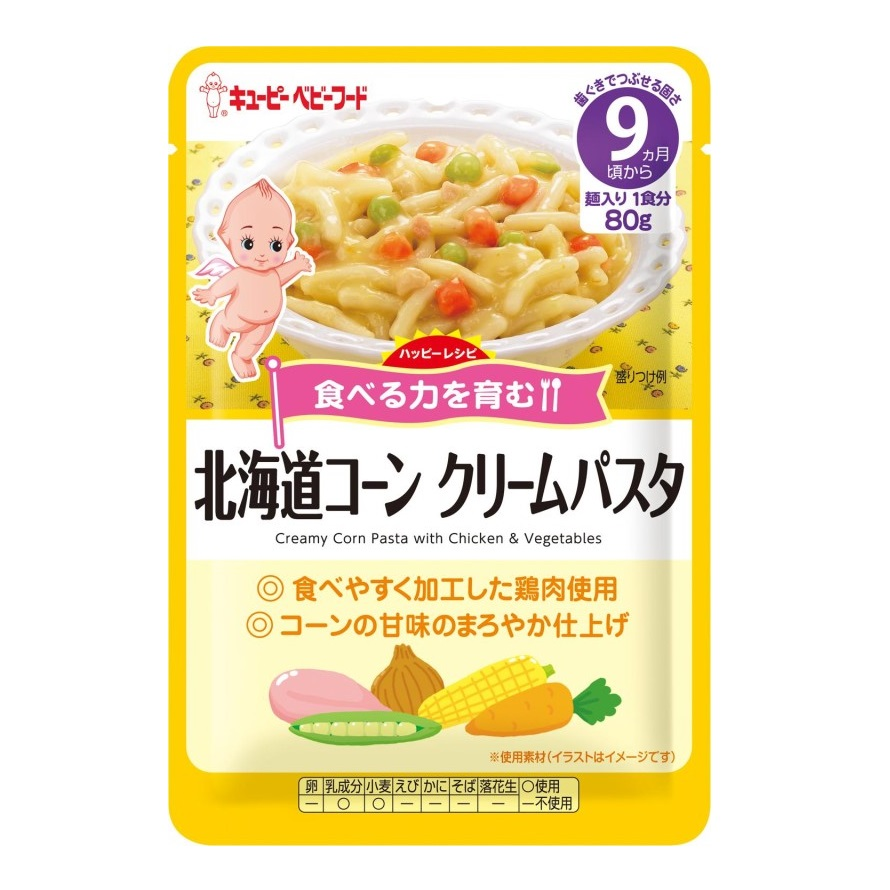 KEWPIE HR-17 HOKKAIDO CREAMY CORN PASTA WITH CHICKEN & VEGETABLES