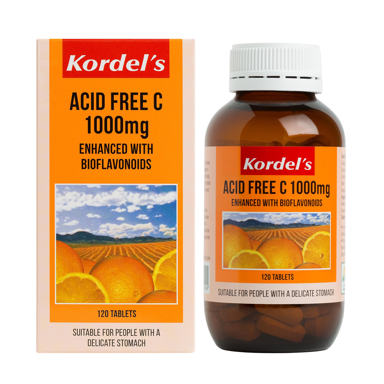 baby-fair Kordel's Acid Free C 1000 mg 120's