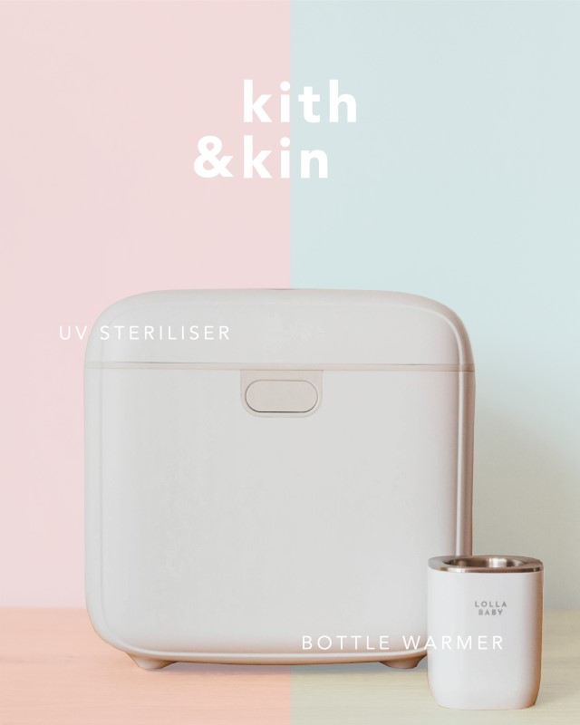 NEW LAUNCH Sterilizer Bundle!! Kith and Kin UV Steriliser [Dual Philips Lamp] + Bottle Warmer + Adaptor Bundle