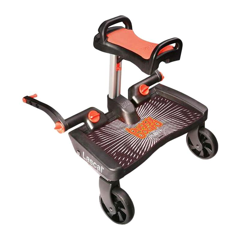 baby-fair Lascal Buggy Board Maxi + Buggy Board Saddle Bundle + FREE Delivery