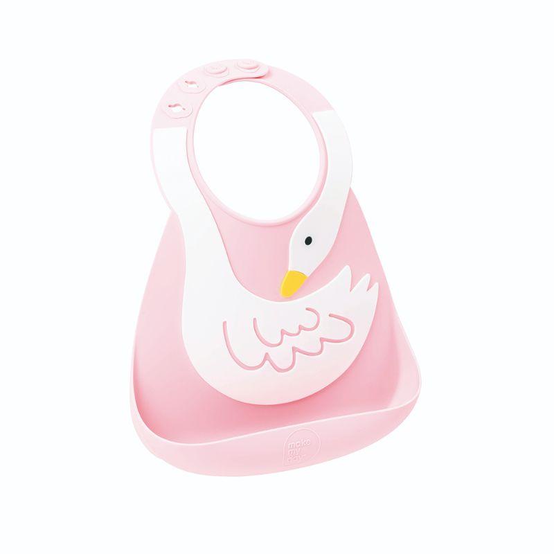 baby-fair Make My Day Bib - Swan