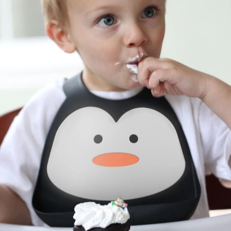 Make My Day Bib - Penguin