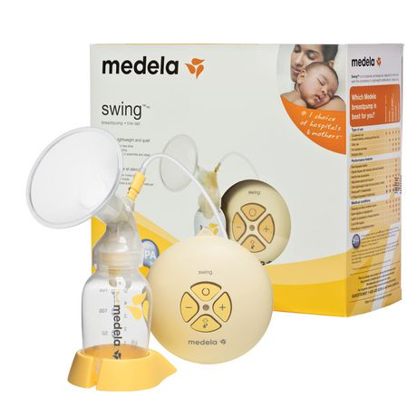 baby-fair(w Add-on) Medela Swing Single Electric Breastpump Bundle + Isa Uchi Sterilizer & Warmer