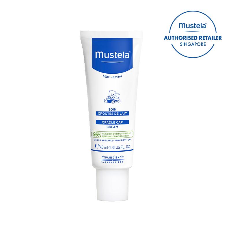 baby-fair Mustela Cradle Cap Cream 40ml