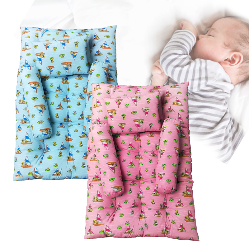 baby-fair Puku 4pcs Mattress Set (65cm X 96cm X 7.5cm) - For 12mth and above (MN98201)
