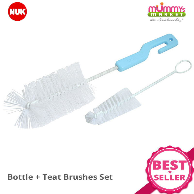 baby-fairNUK Bottle + Teat Brushes Set