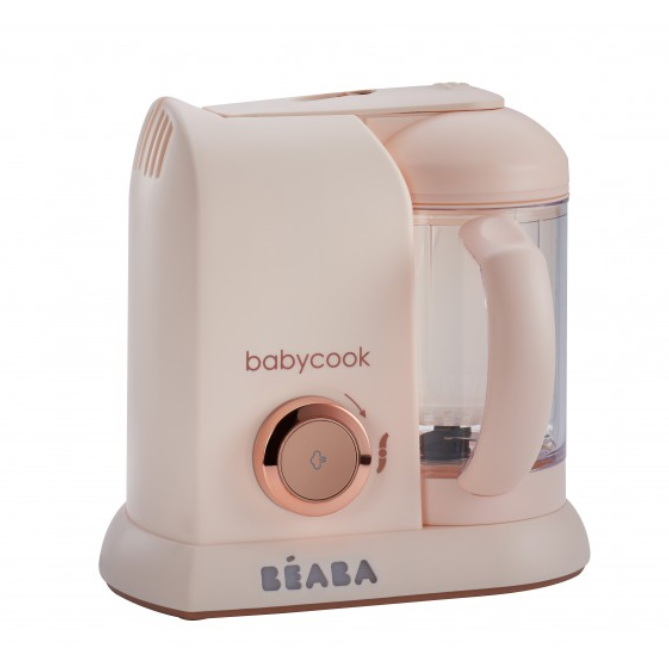 baby-fair Beaba Babycook Solo 4in1 Baby Food Maker - Rose Gold (BS Plug) (912570)