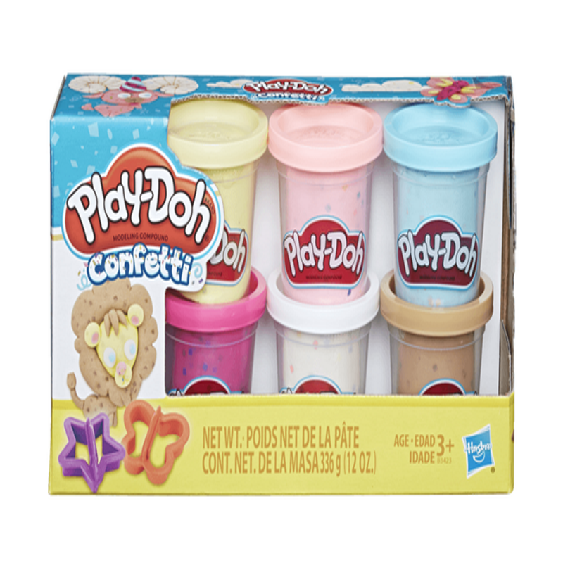 baby-fair Play Doh Confetti Compound Collection