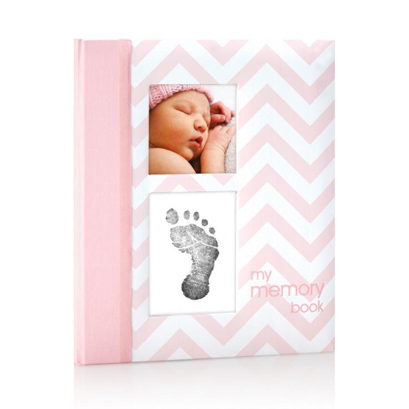 baby-fair Pearhead Babybook - Chevron Pink