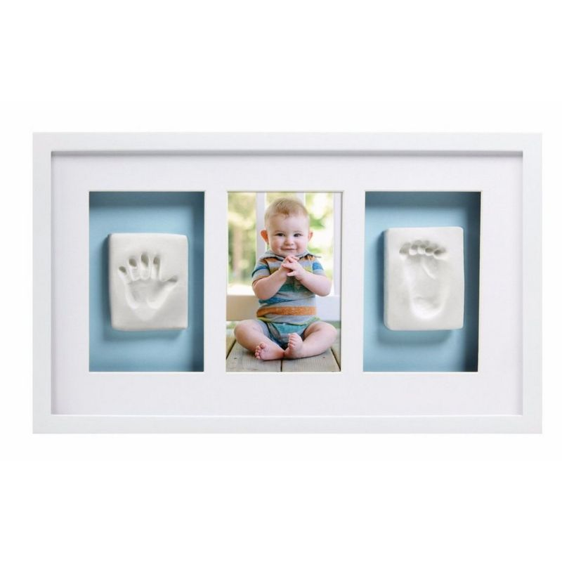 baby-fair Pearhead Babyprints Deluxe Wall Frame - White with Closed Box