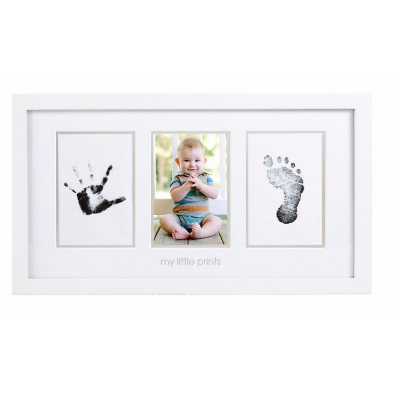 baby-fair Pearhead Babyprints Photo Frame - White with Closed Box