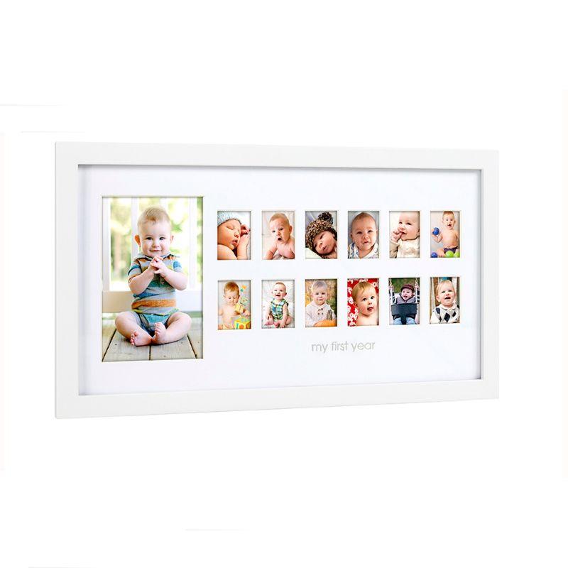 baby-fair Pearhead Photo Moments Frame White