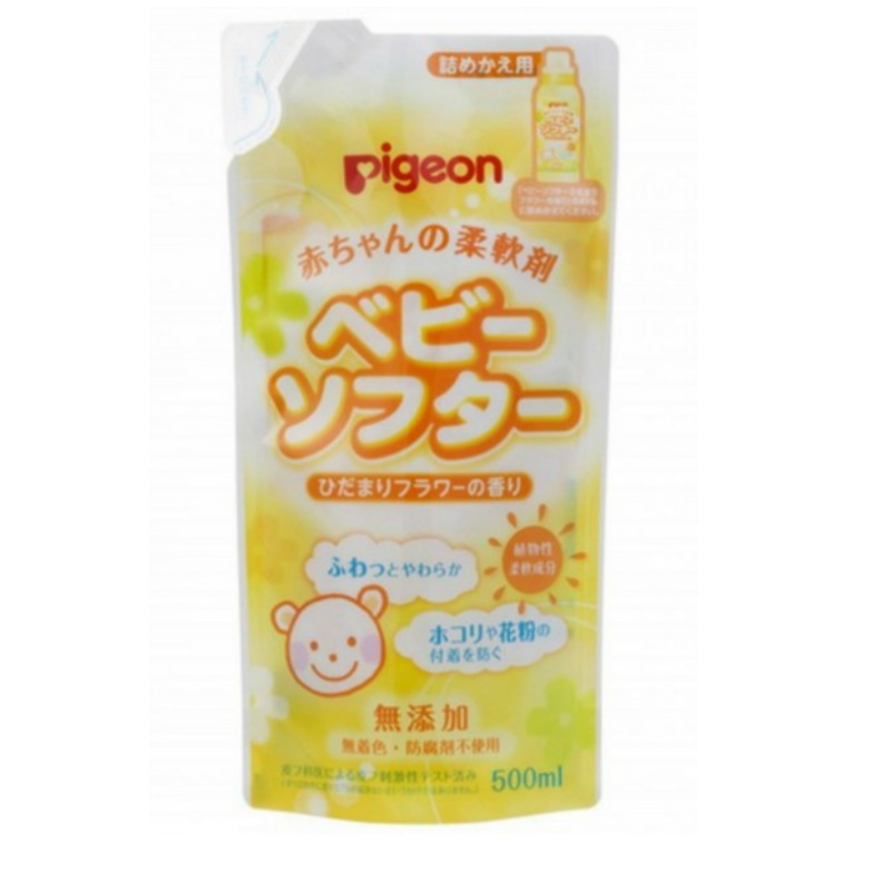 baby-fair Pigeon Baby Laundry Softener Scented 500ml Refill (JP) (PG-12138)