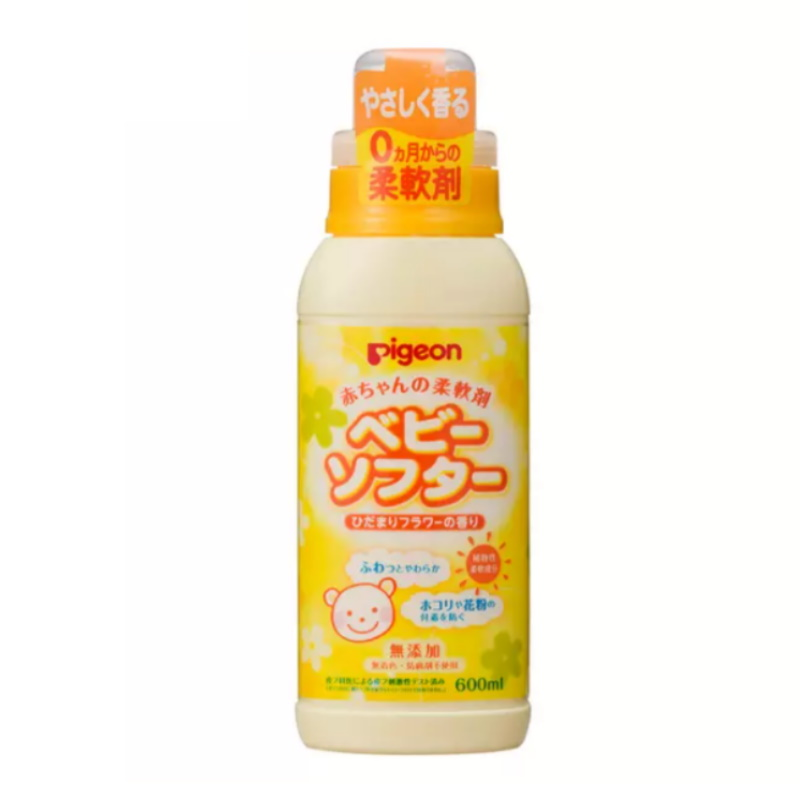 baby-fairPIGEON BABY LAUNDRY SOFTENER W/FRAGRANCE 600ML(JP) (PG-12137)