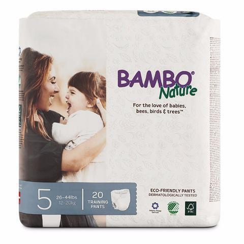 baby-fair Bambo Nature Junior Pants Diapers (20 pcs) 12 - 20kg