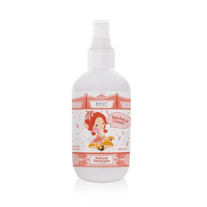 baby-fairpout Care Peaches & Cream Natural Detangler (200ml)