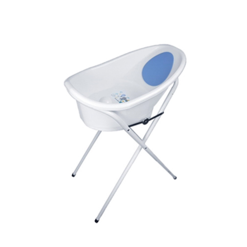 Puku Baby Bath Tub (M) with Stand (Blue/Pink) P30540VP-F