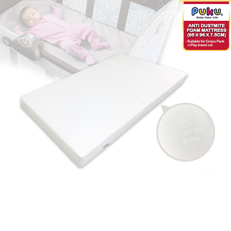baby-fair Puku High Density Anti Dustmite Foam Mattress_SP26383