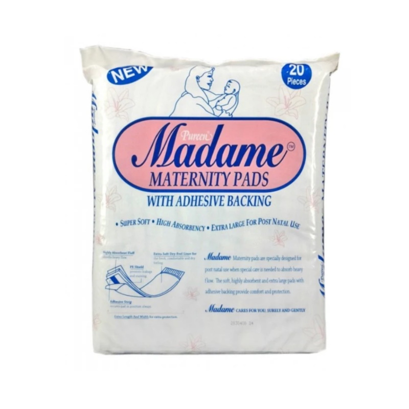 baby-fairPureen Madame Maternity Pad 20s