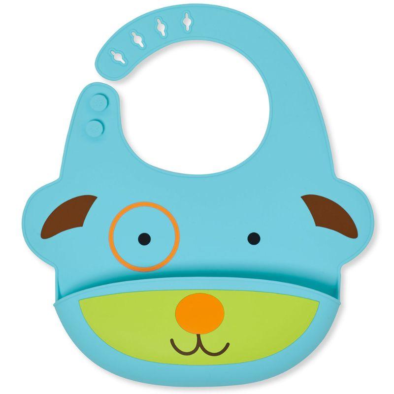 baby-fairSkip Hop Zoo Fold & Go Silicone Bib - Dog