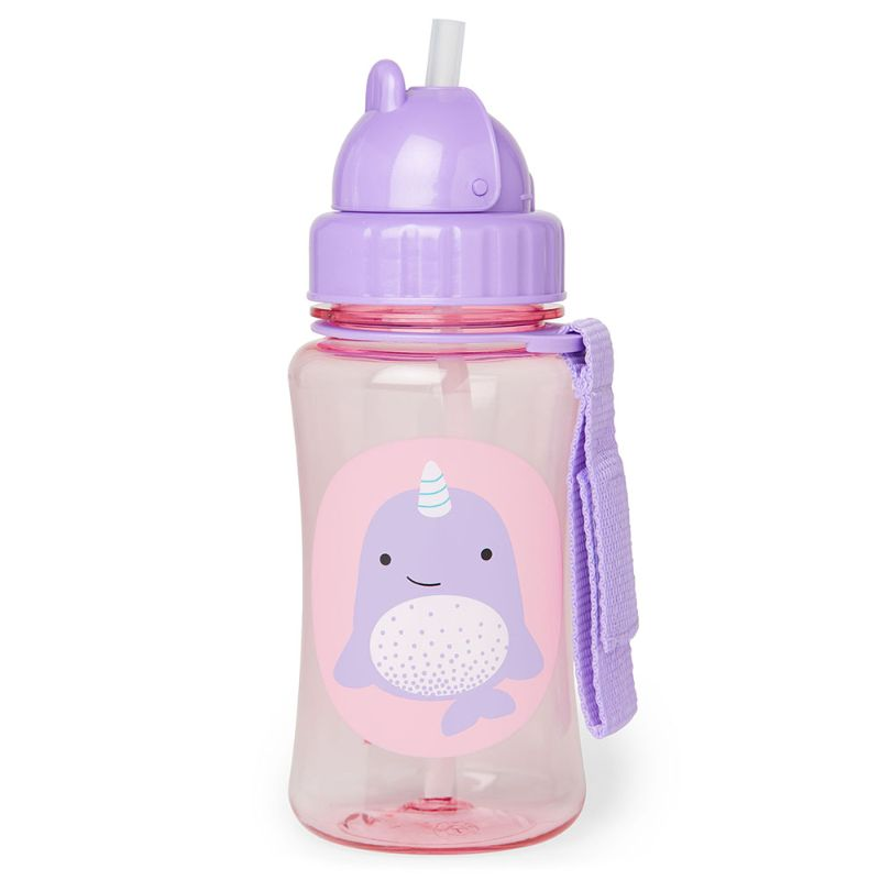 baby-fair Skip Hop Zoo Straw Bottle - Narwhal