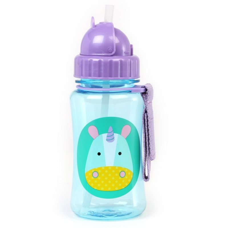 baby-fair Skip Hop Zoo Straw Bottle - Unicorn
