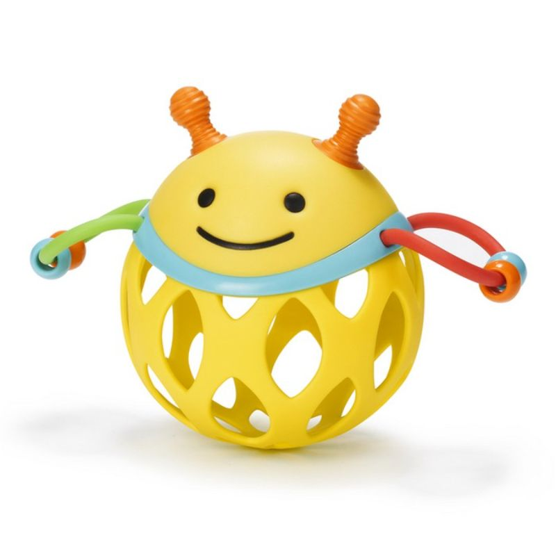 baby-fair Skip Hop Explore & More Roll-Around Rattle - Bee