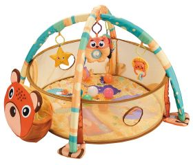 baby-fairShears Cubs Game Cushion and Ocean Balls (Playmat/Activity Gym)