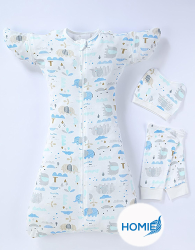 Baby Sleeping Bag/Swaddle Up (Size S:  0-3M)
