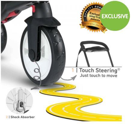 [CLEARANCE] Smart Trike STR5 7 in 1 Trike
