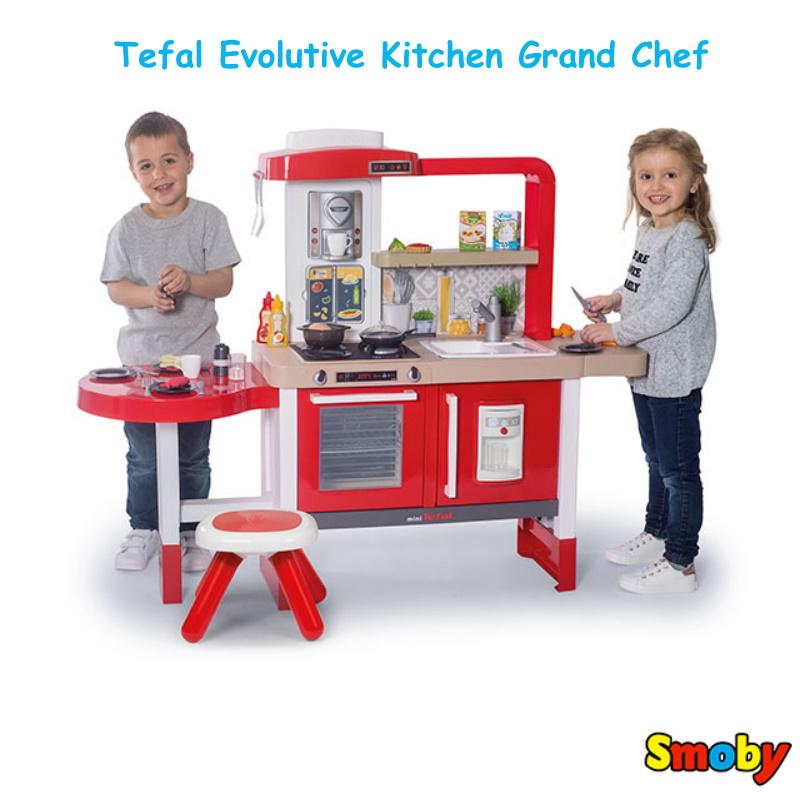 baby-fairSmoby Tefal Evolutive Kitchen Grand Chef