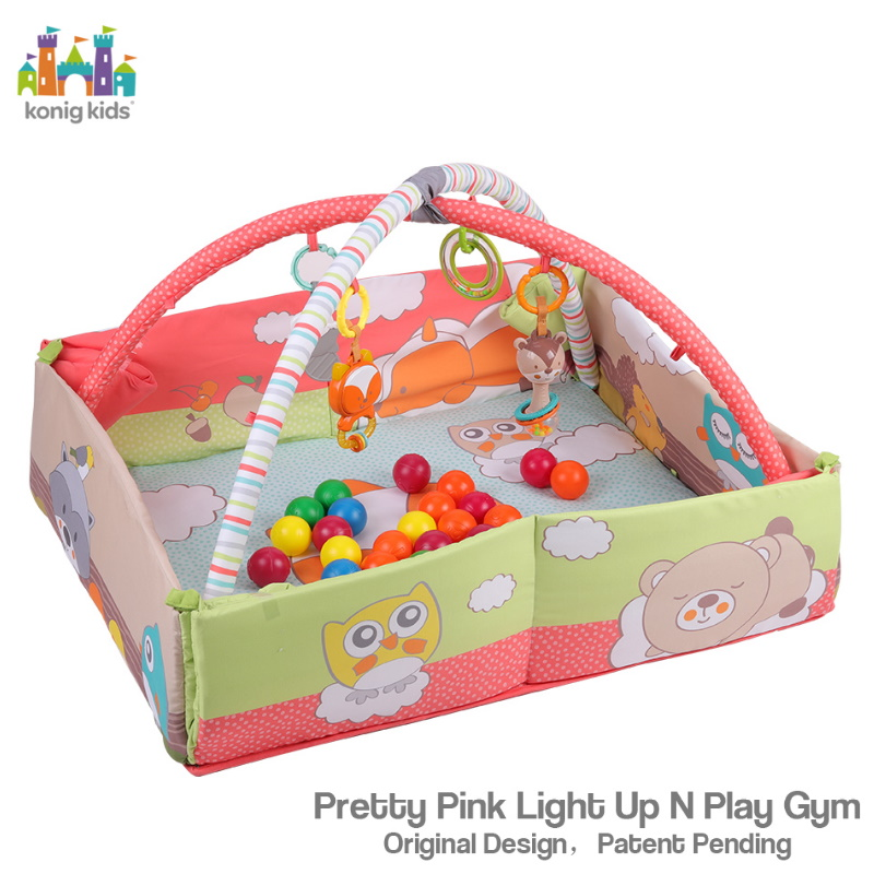 baby-fairKonig Kids 3 in 1 Play Center with Music & Ball Pit (Include 20 balls)