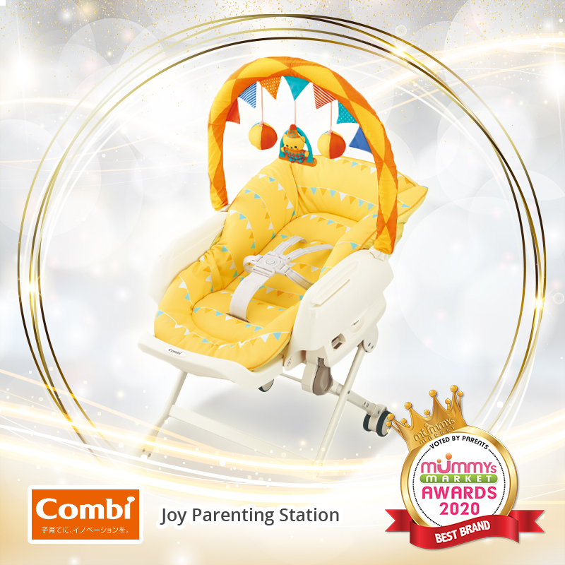 Baby Fair | Combi Joy Parenting Station (Manual Swing Highchair)