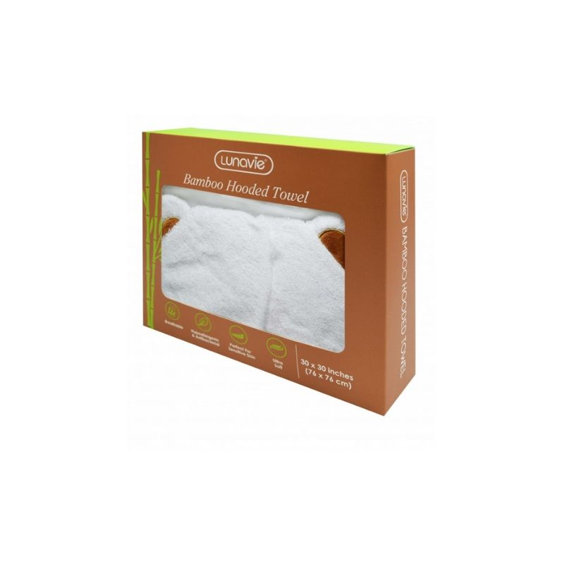 baby-fairLunavie Organic Bamboo Hooded Towel