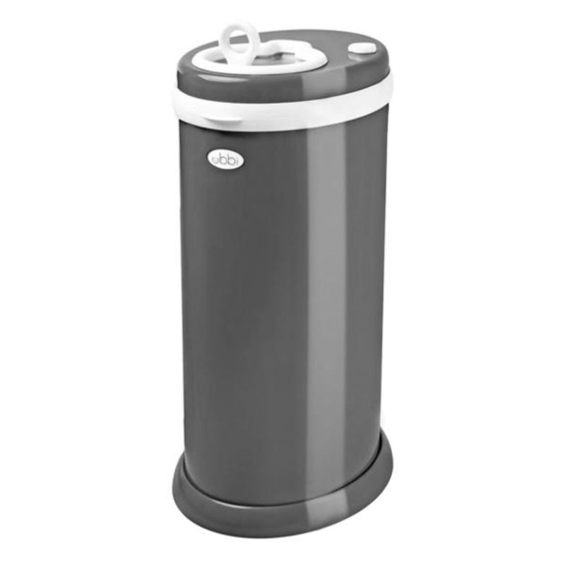 baby-fair Ubbi Diaper Pail - Slate Dark Grey