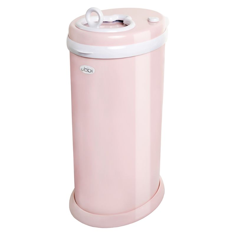 baby-fair Ubbi Diaper Pail - Blush Pink
