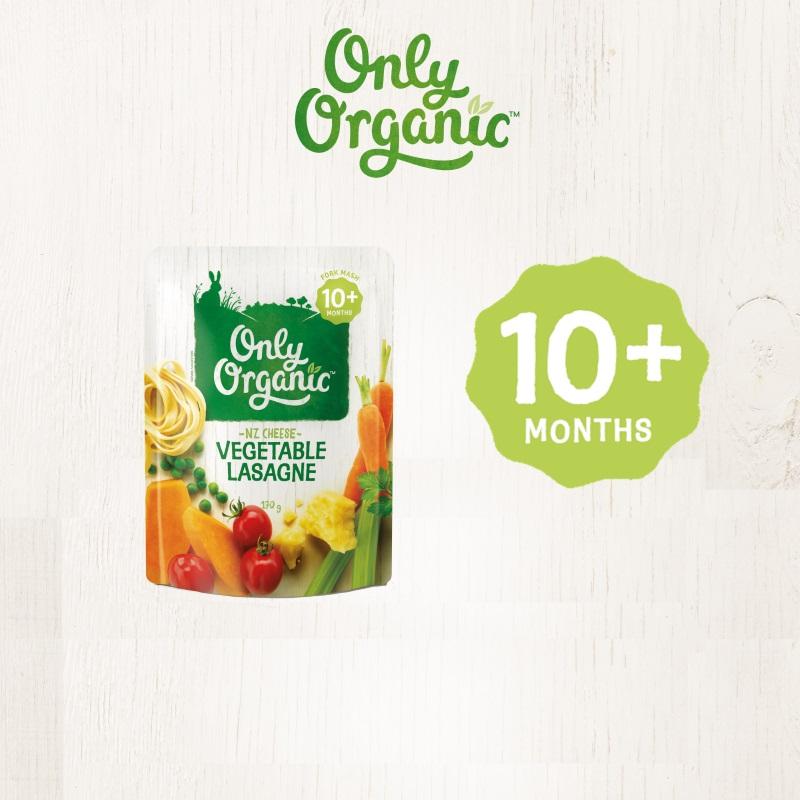 baby-fair Only Organic Vegetable Lasagne 170G