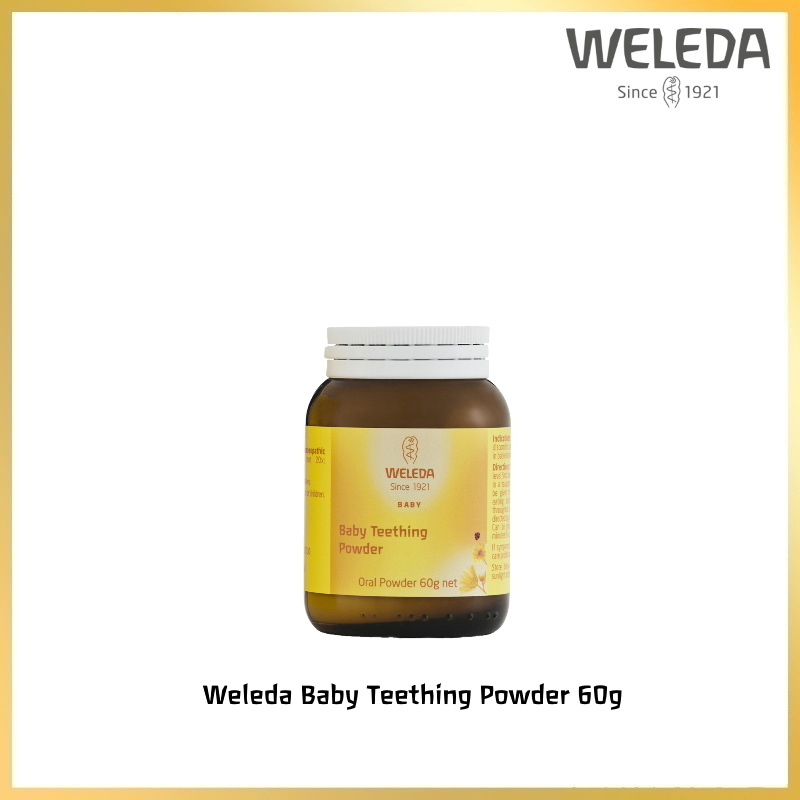baby-fair Weleda Baby Teething Powder  60g
