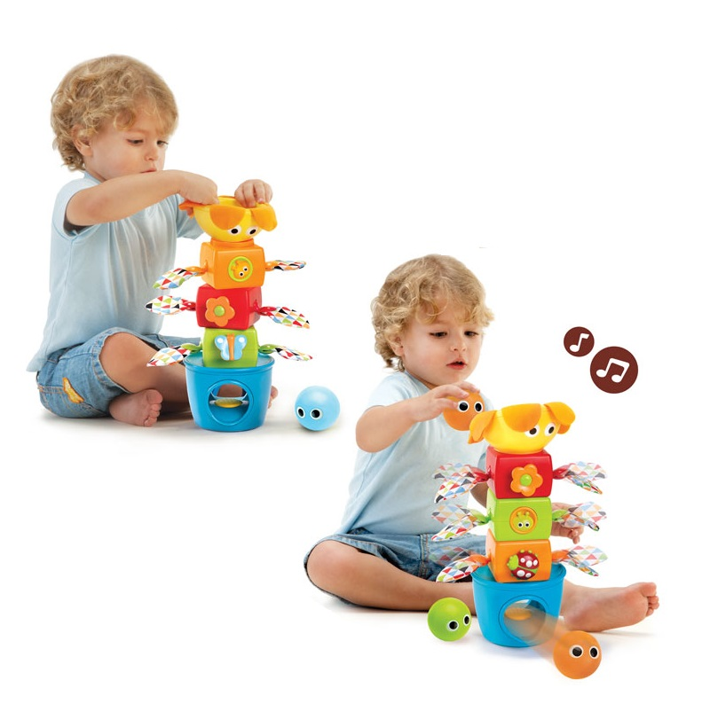 baby-fairYookidoo Stack Flap N Tumble Toy