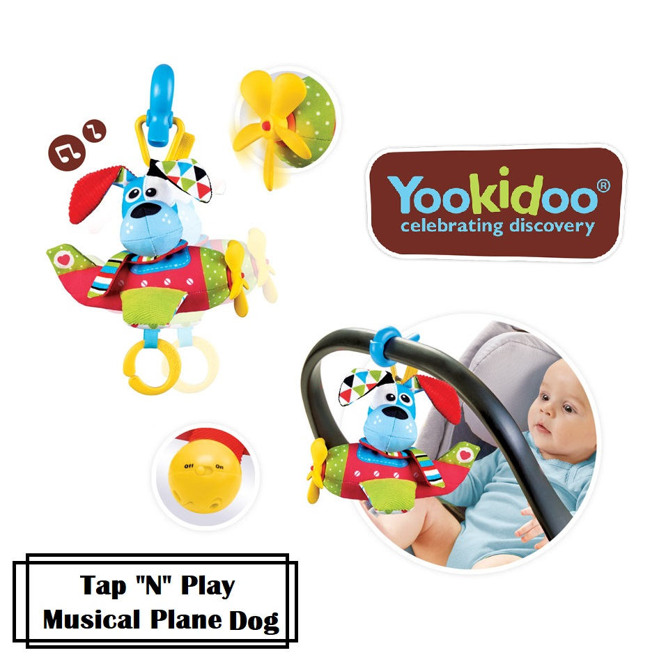 baby-fair Yookidoo Tap N Play Musical Plane