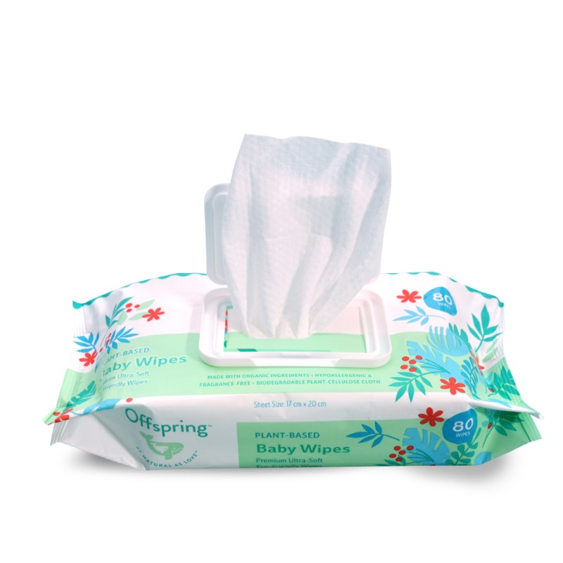 baby-fairOffspring Plant-Based Baby Wipes 80ct