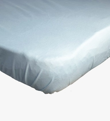 baby-fairHappy Cot Bamboo Waterproof Fitted Sheet (Blue)