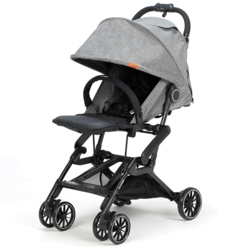 baby-fairCombi Compact Folding Stroller (Grey)