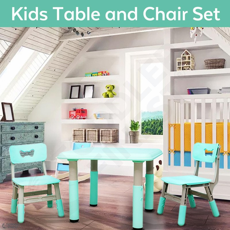 baby-fairToddlerFinest Kids Activity Table and 2 Chairs Set