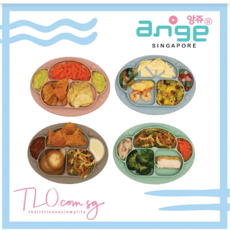 Ange Monkey Plate (with Lid)