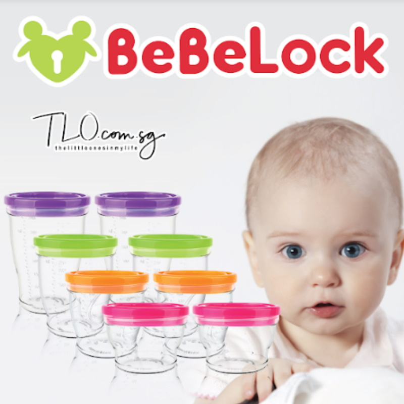 BeBeLock Airtight Container 240ml