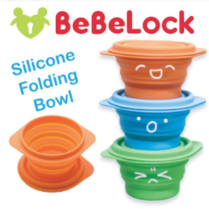 baby-fairBeBeLock Silicon Folding Bowl