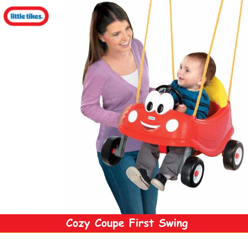 baby-fairLittle Tikes Cosy Coupe First Swing