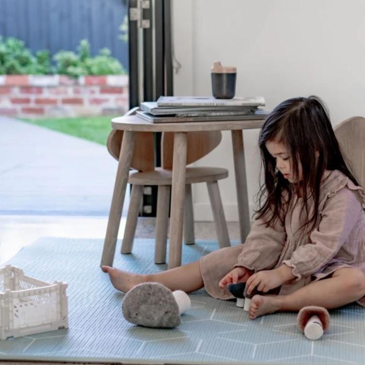 baby-fair Little Wiwa Signatur Sage Sma Playmat - 100cm (L) x 140cm (W) x 15mm
