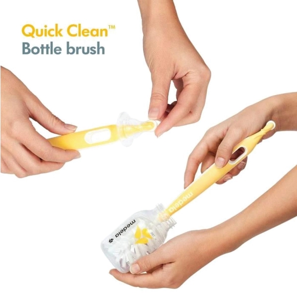 Medela Quick Clean Bottle Brush with Stand
